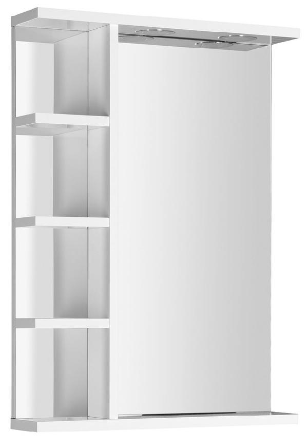 AQUALINE KORIN LED tükör világítássaling és polccal, 52x70x12cm (KO355)