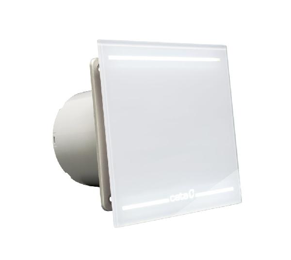 Sapho CATA E-100 GL ventilátor, 8+4W, standard, o100mm, LED világítás, fehér