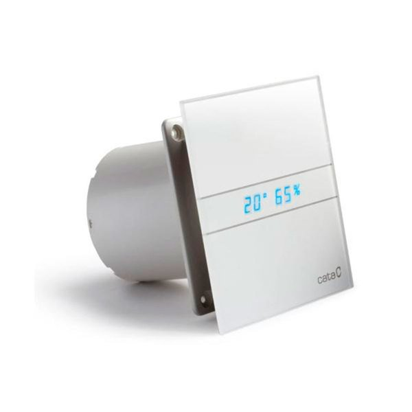 Sapho CATA E-150 GTH ventillátor, 10/19W, időzítővel, automatikus, o150mm, fehér