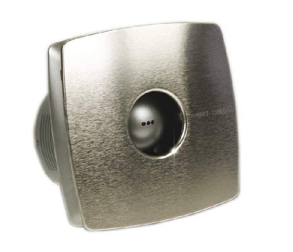 Sapho CATA X-MART 10 INOX T ventilátor, 15W, időzítővel, o100mm,