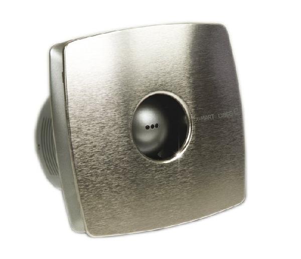 Sapho CATA X-MART 10 INOX H ventilátor, 15W, hygro, o100mm