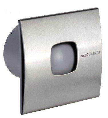 Sapho CATA SILENTIS 12 INOX T ventilátor, 20W, időzítővel,o120mm