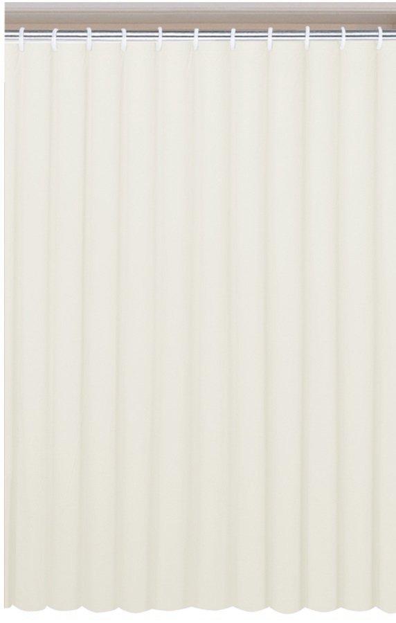 Sapho AQUALINE PVC zuhanyfüggöny, 180x180 cm, krém