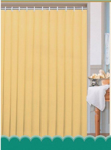 Sapho AQUALINE Zuhanyfüggöny 180x180cm, 100% polyester, fehér