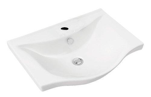 Sapho  AQUALINE ZARA mosdó, kerámia 54x44,5cm