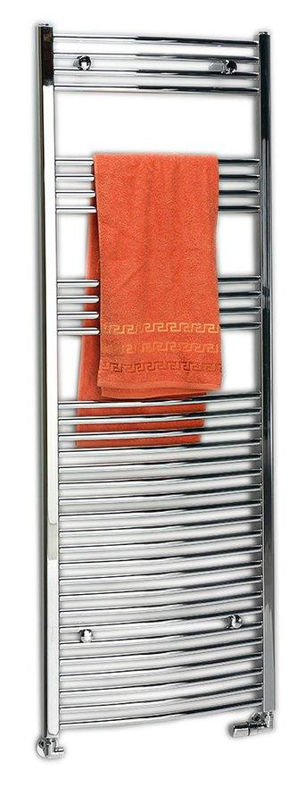 Sapho ALYA radiátor íves króm 600x1760 cm, 775W
