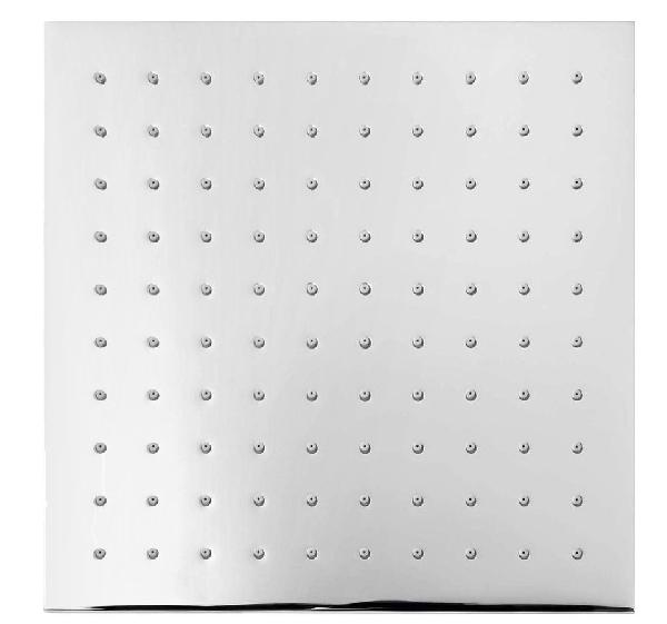 Sapho fejzuhany, szögletes, 25x25cm, króm 1203-05