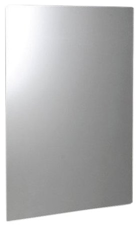 Sapho PLAIN Tükör 60x80cm, lekerekített sarkokkal, akasztó nélkül 1501-26