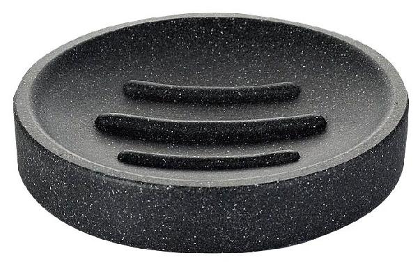 Sapho RIDDER STONE szappantartó, black 22010310