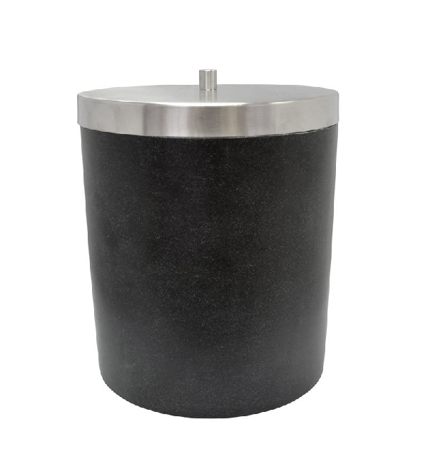 Sapho RIDDER STONE szemetes, black 22010810