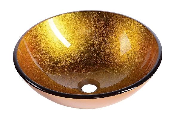 Sapho BEAUTY AGO üveg mosdó, átmérő 42 cm 2501-19