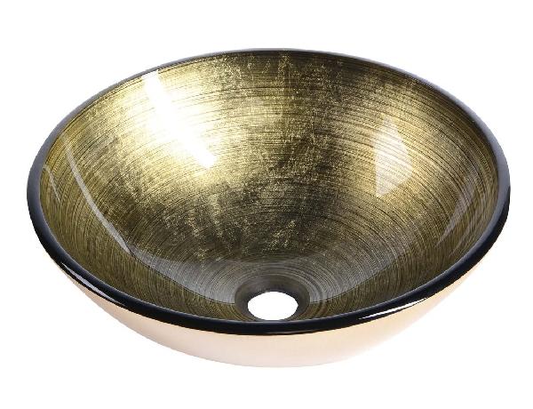 Sapho BEAUTY FIANNA üveg mosdó, átmérő 42 cm 2501-21