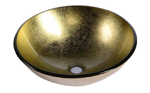 Sapho BEAUTY SHAY üveg mosdó, átmérő 42 cm 2501-22