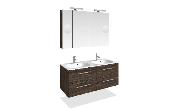 Tboss Elka fürdőszobabútor szett 120cm (2M/2CS) - több színben