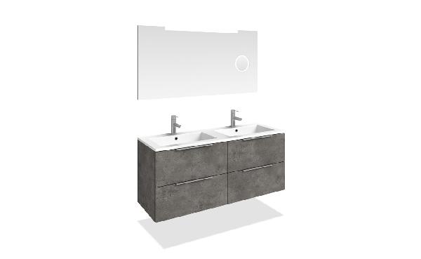 Tboss Dana fürdőszobabútor szett 120cm (2M/2CS)- több színben