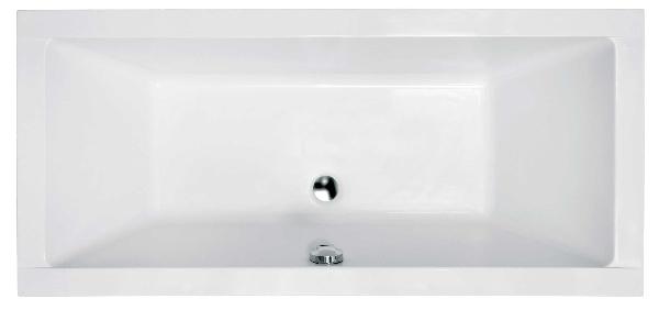 Besco Quadro Slim 155x70 akril egyenes kád