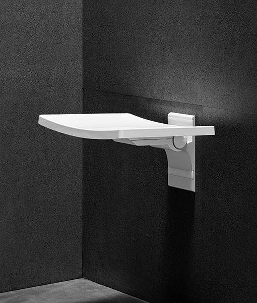Besco ACTIVE falra szerelhető zuhanyülőke - fehér