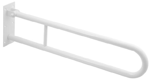 BEMETA HELP Felhajtható kapaszkodó, U-típus, 600mm, fehér (301102074) (XH515)