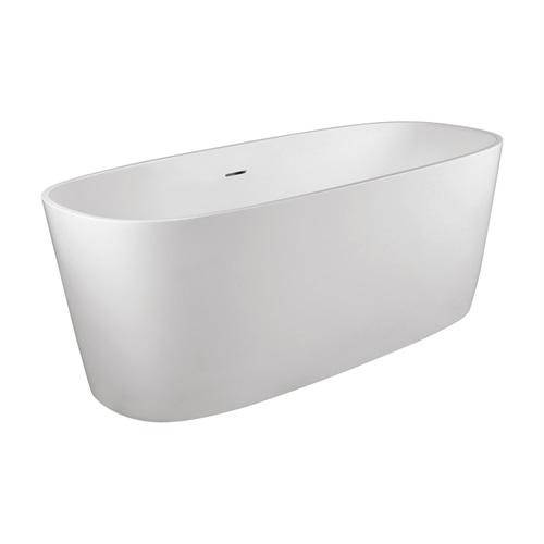 Marmy NOLI 150x65 öntött márvány térben álló fürdőkád