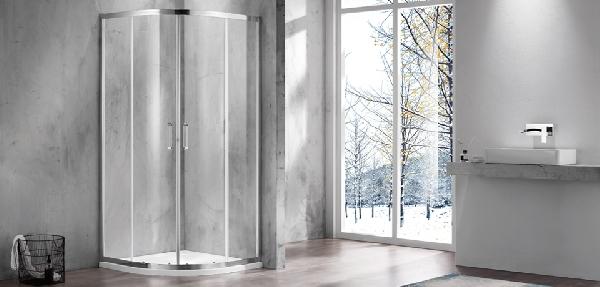 Wellis Caprera két tolóajtós 90x90 íves zuhanykabin