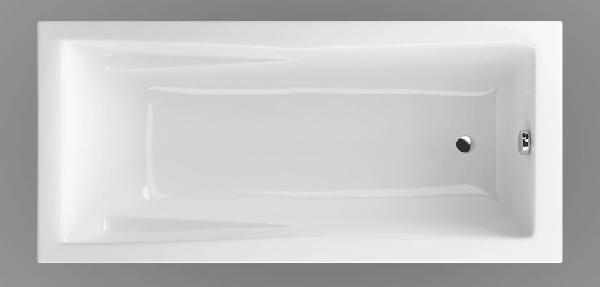 Wellis Huron 160x75 akril egyenes kád
