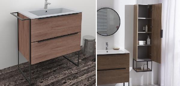 Wellis Jersey lábon álló fürdőszoba bútor