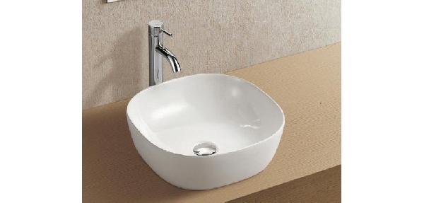 Wellis Poppy porcelán mosdó 410x410x148mm - pultra építhető