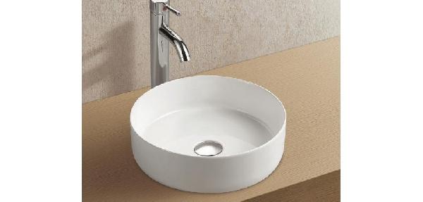 Wellis Rose porcelán kerek mosdó - pultra építhető