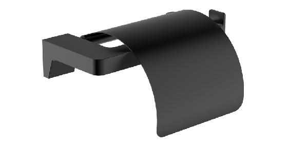 Wellis Mamba WC-papír tartó - matt fekete