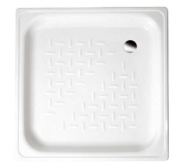 AQUALINE lemez zuhanytálca, 70x70x12cm,fehér (PD70X70)