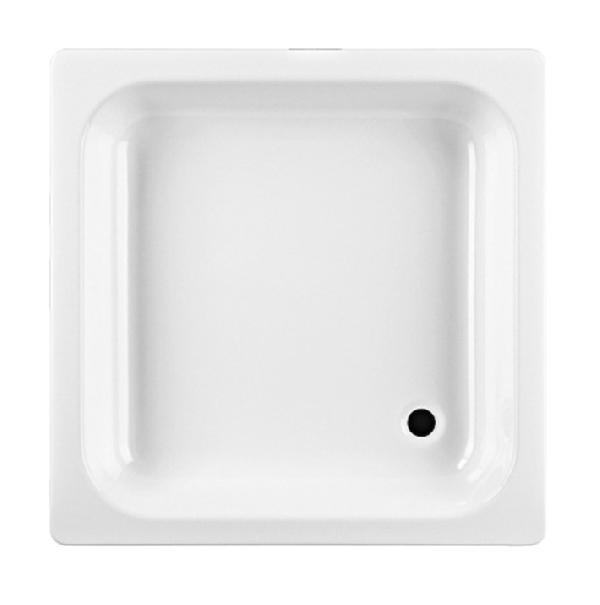 Jika SOFIA acéllemez 80x80 szögletes zuhanytálca, fehér (214080)