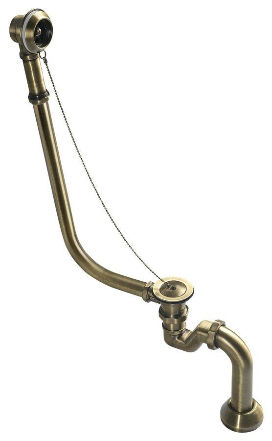 POLYSAN SILFRA Le-, túlfolyó dugóval  térkádhoz, bronz (71690)