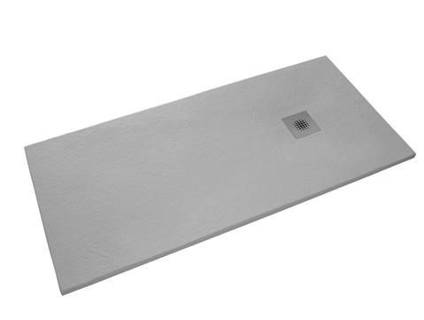 Siko öntött márvány téglalap zuhanytálca 80x140cm - 4 választható színben