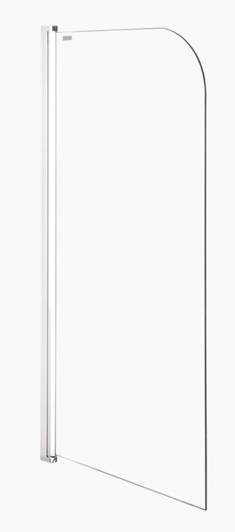 Laguna 75x143 cm univerzális kádparaván, átlátszó üveg