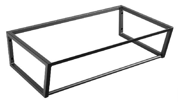 Sapho SKA mosdótartó keret pult alá, 75x20x46cm, matt fekete (SKA202)