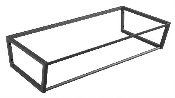 Sapho SKA mosdótartó keret pult alá, 90x20x46cm, matt fekete (SKA203)