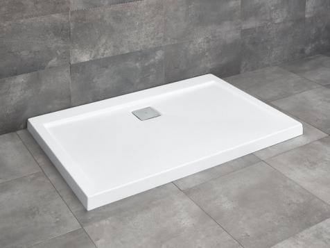 Radaway Argos D szögletes 120x90cm  lapos zuhanytálca