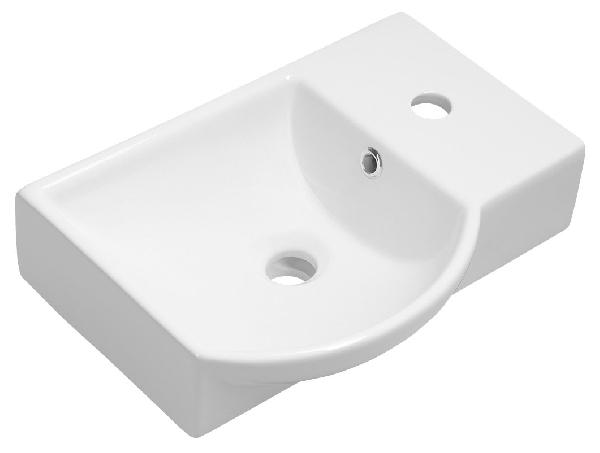 Sapho LITOS kerámia mosdó, jobbos, 45x32cm (4079)