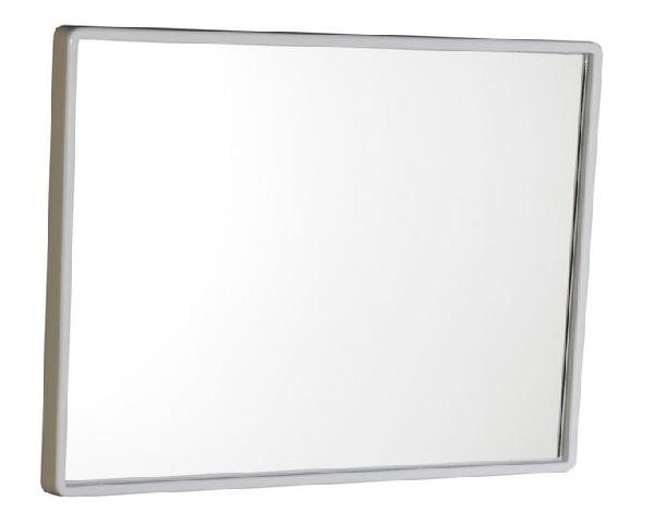 Aqualine tükör 40x30cm fehér pvc keret (22436)