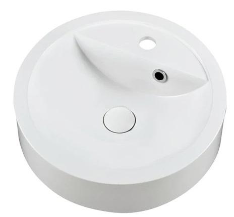 Marmy SABINA D43x10 fényes fehér