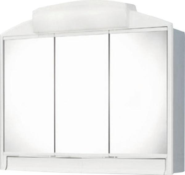 Aqualine Rano tükrösszekrény 59x51x16 fehér, műanyag (541302)