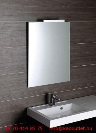 Aqualine csiszolt tükör akasztó nélkül, 50x90 cm (22497)