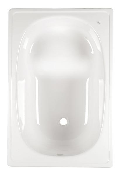 Aqualine lemez ülőkád 105x65x41 cm, láb nélkül, fehér (V105x65S)