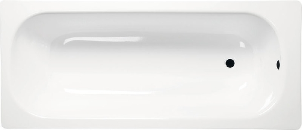 Aqualine lemezkád 170x70x38 cm, láb nélkül, fehér (V170x70)