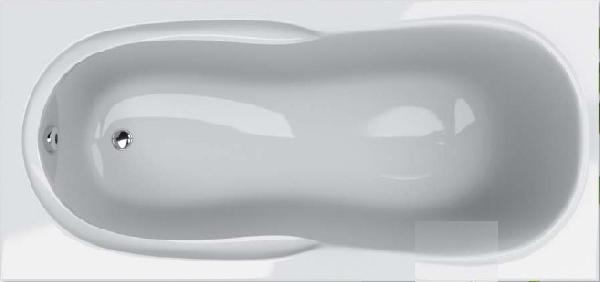 Hopa Toscana 160*70 egyenes kád + ajándék kádláb Kifutó darab
