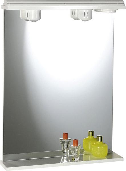 Aqualine tükör világítással 50x75x18 cm (57054)