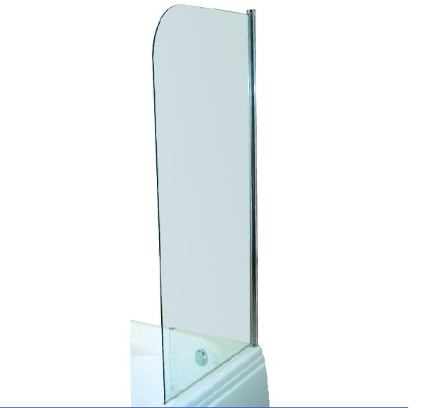M-acryl Edzett üveges Kádparaván 75x143