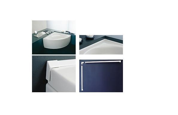 Kolpa San Vízvető profil fürdőkádakhoz és zuhanytálcákhoz 2x195 cm
