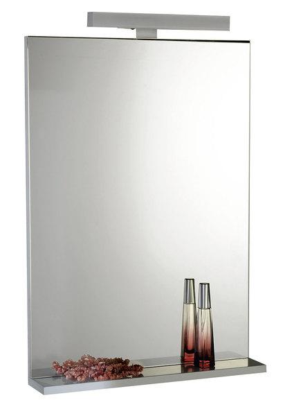 Aqualine BETA tükör polccal 50x70x12 cm (57396)