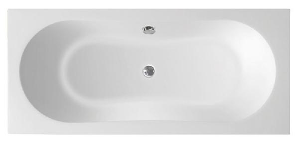 Aqualine Jizera akril kád 180x80x39 cm, láb nélkül (G1880) - RAKTÁRON